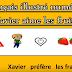 Le français illustré numéro 10 : Xavier aime les fruits