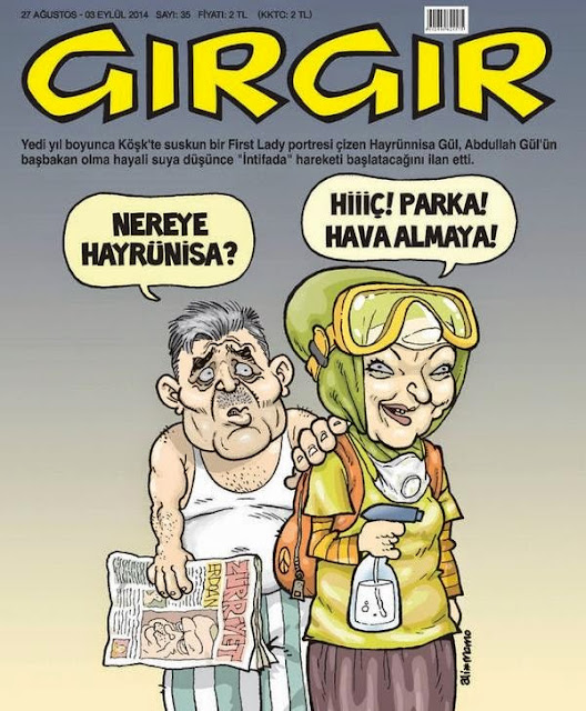 Gırgır Dergisi | 27 Ağustos-03 Eylül 2014 Kapağı