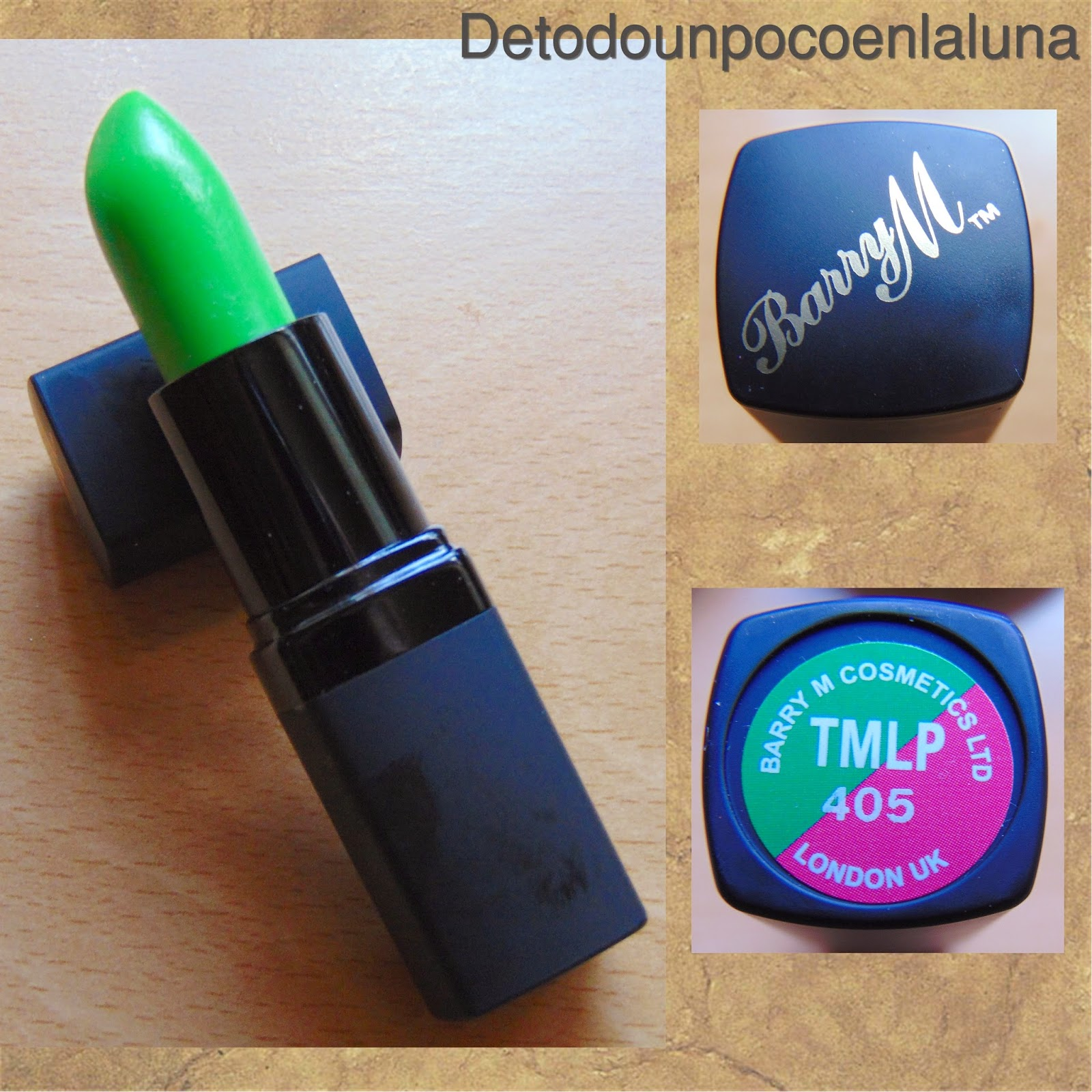 Labial mágico verde Barry M
