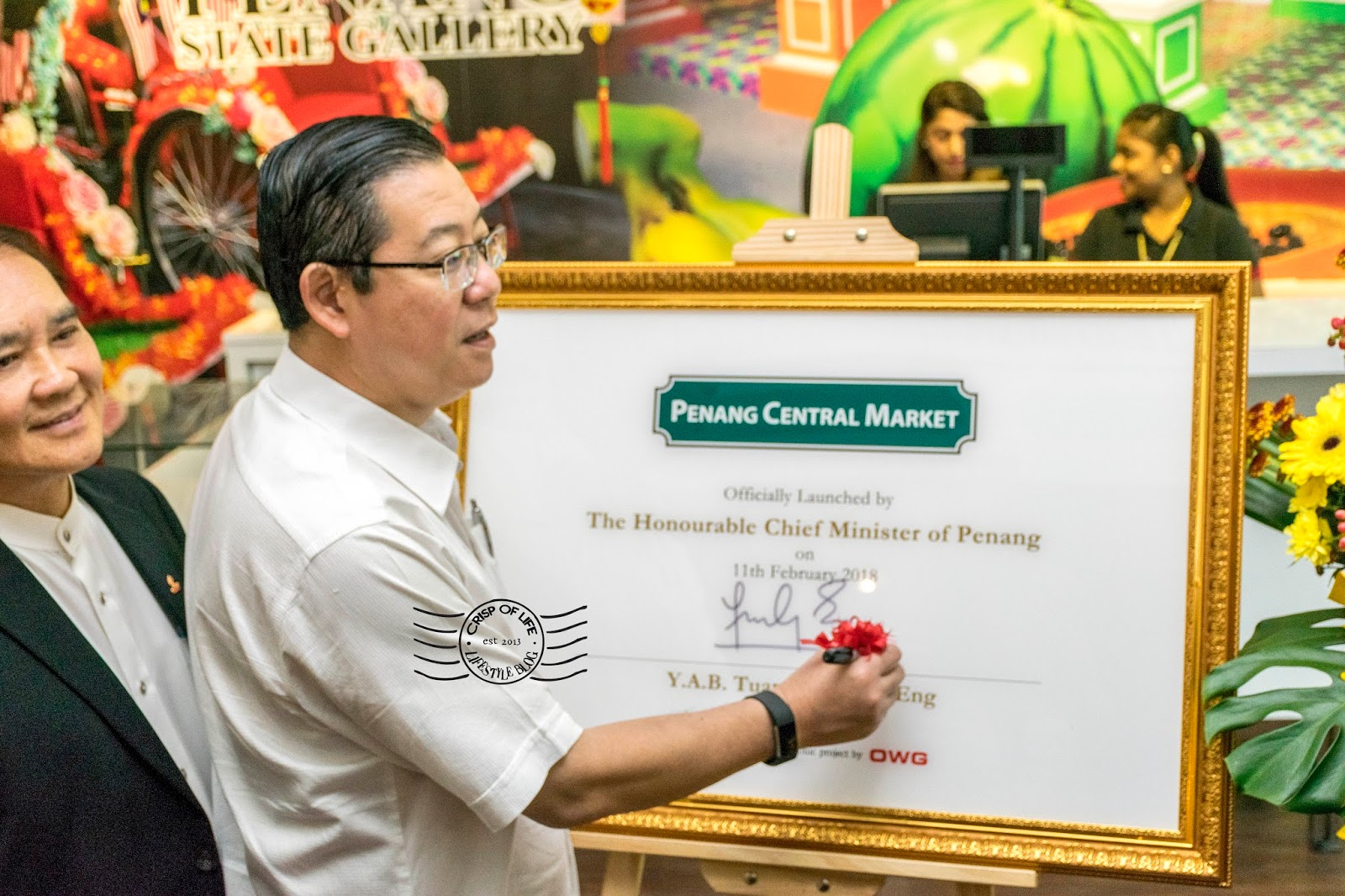 Launching of Boutique Aquarium and Penang Central Market @ The Top, Komtar Penang