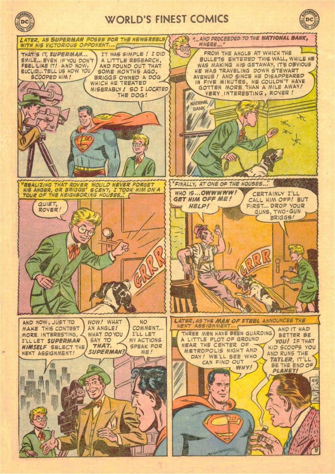 Read online World's Finest Comics comic -  Issue #58 - 10