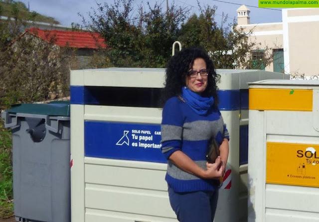 El Cabildo reinicia la recogida puerta a puerta de papel cartón en las zonas comerciales abiertas