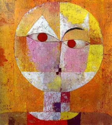 Senécio - Paul Klee - (Expressionismo) Suíço