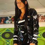 Andrea Rincon, Selena Spice Galeria 5 : Vestido De Latex Negro Foto 40