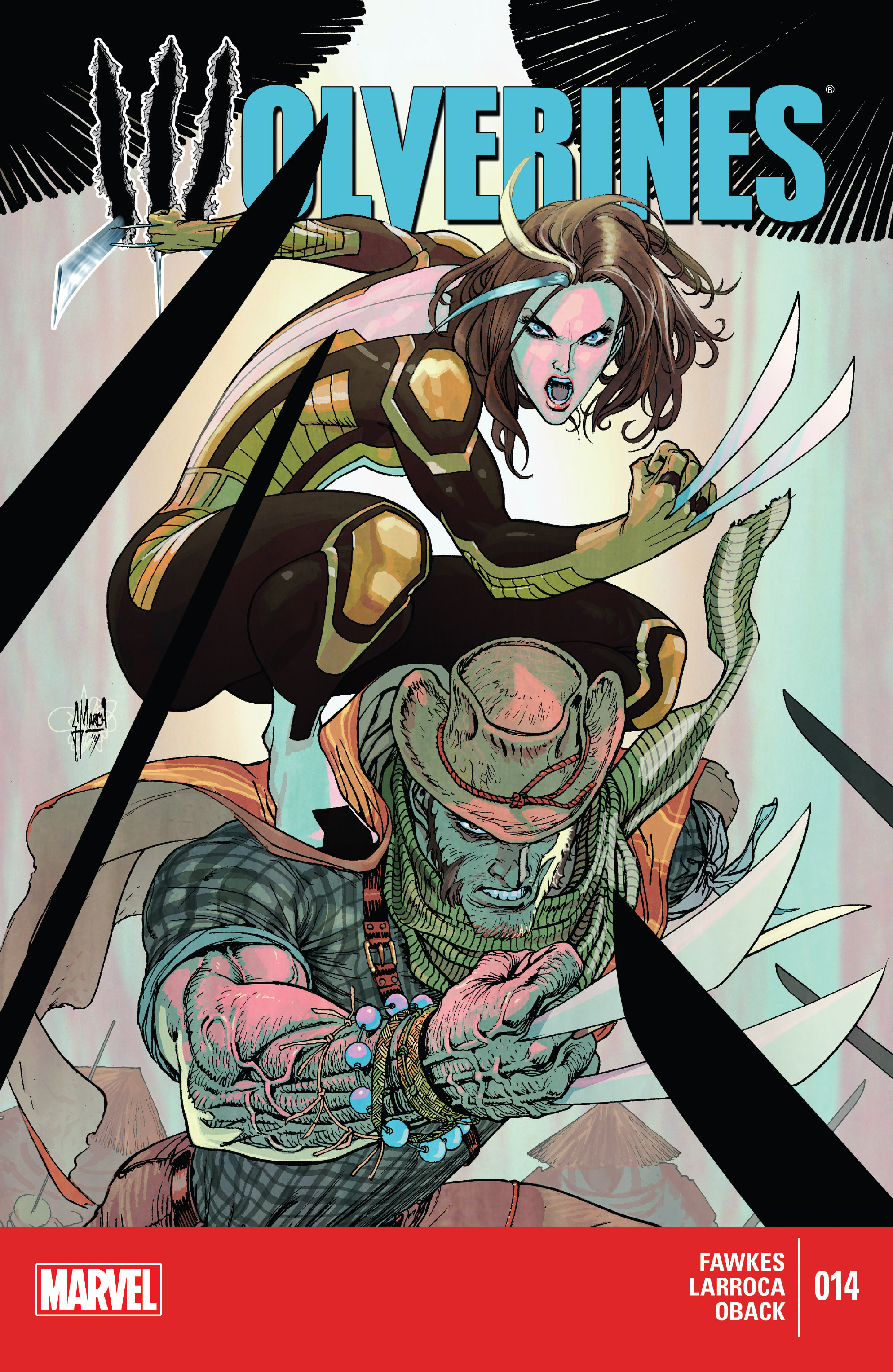 Read online Wolverines comic -  Issue #14 - 1