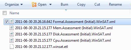 WEI XML File