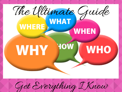 Questions: What, Where, When, Why, How