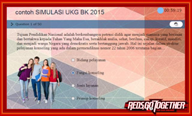 Download Contoh Simulasi UKG BK Lengkap Dalam Satu File