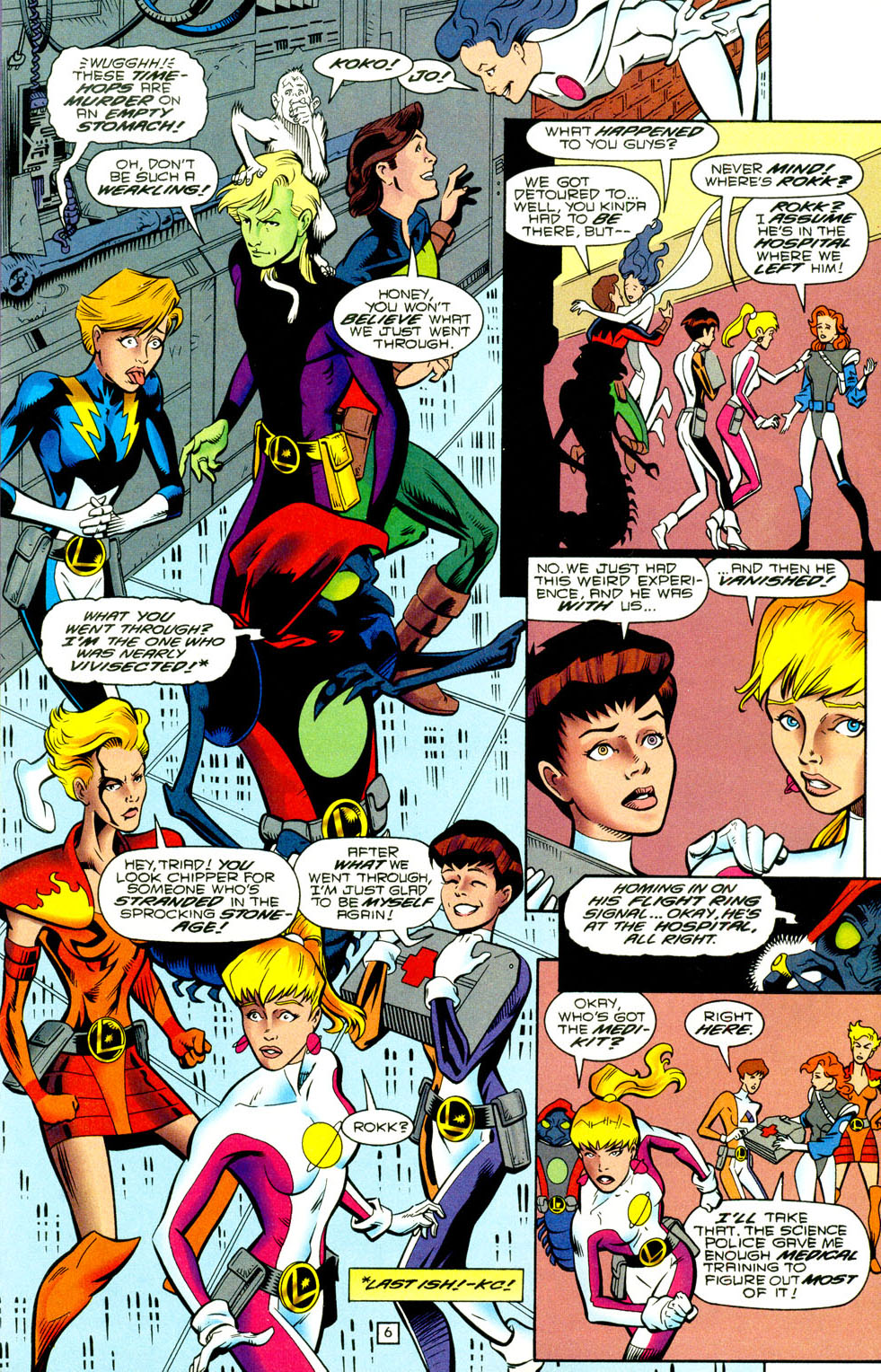 Legion of Super-Heroes (1989) 93 Page 5