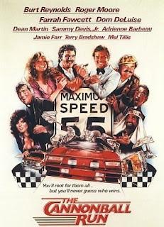 Carte de la película Los locos de Cannonball de 1981