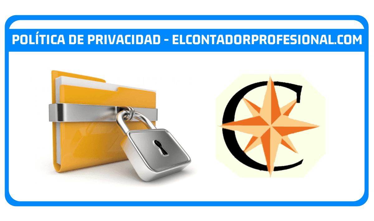 Política de Privacidad - elcontadorprofesional.com