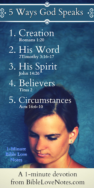 s To Us Every Day- His Word - Believers- Circumstances - His Spirit