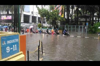 Ribuan Rumah di Jakarta Terendam Banjir