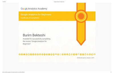 Google Analytics for Beginners from Google Academy