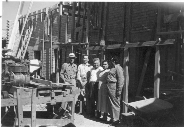 Construcción Del Hotel Mitre 1948