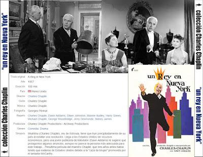 Un Rey en Nueva York (Charles Chaplin) - [1957]