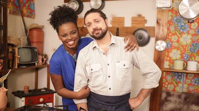 Chef Emmanuele Cucchi e a blogueira Lívia Zaruty viajam o Brasil em busca de boas histórias e diferentes preparos para o mais brasileiro dos pratos - Divulgação
