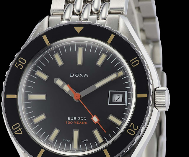 "Doxa SUB 200 ""130th Anniversary Celebration"" limited edition (ref. 799.10.101LE.10)"