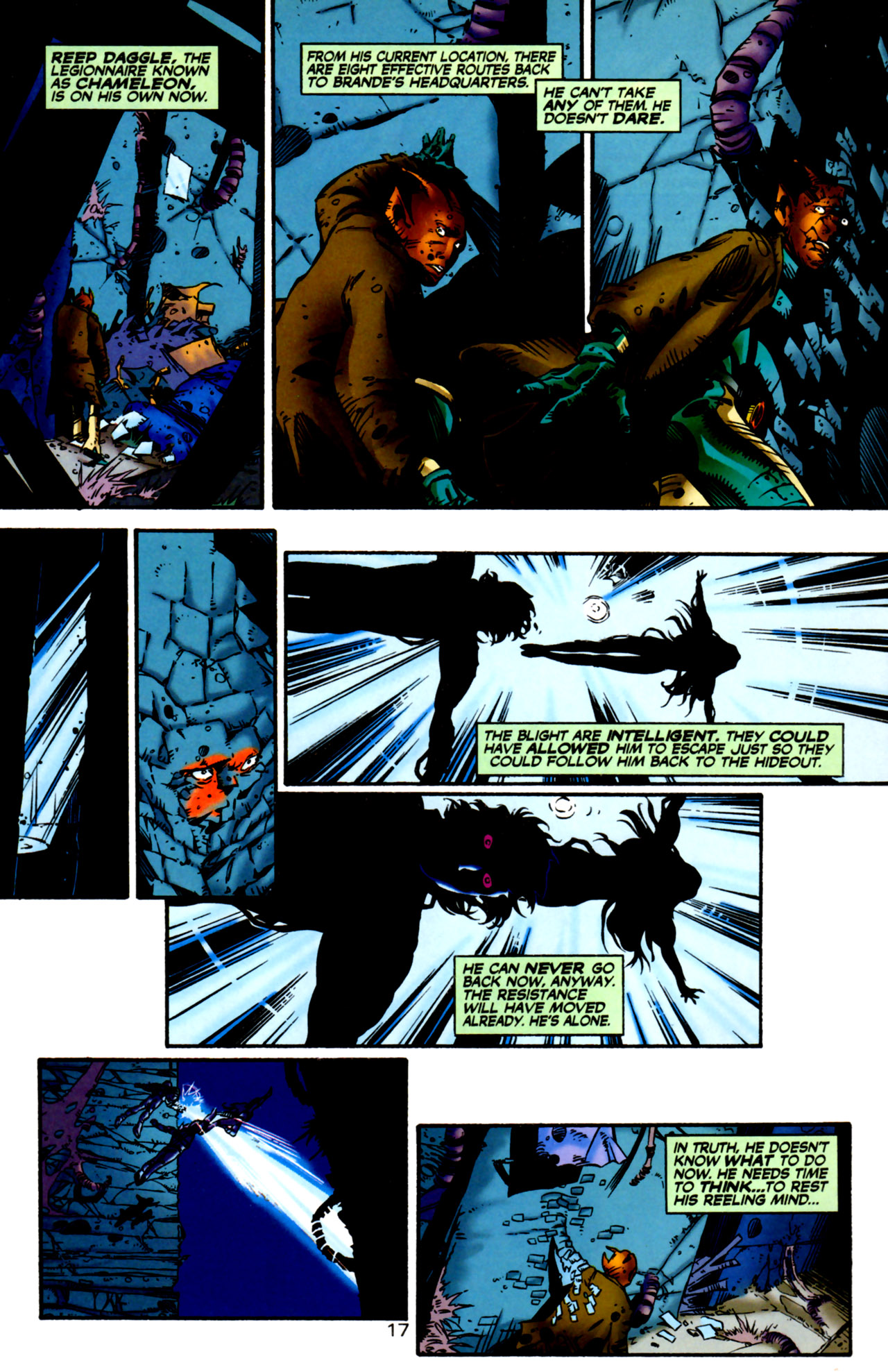 Legion of Super-Heroes (1989) 122 Page 16