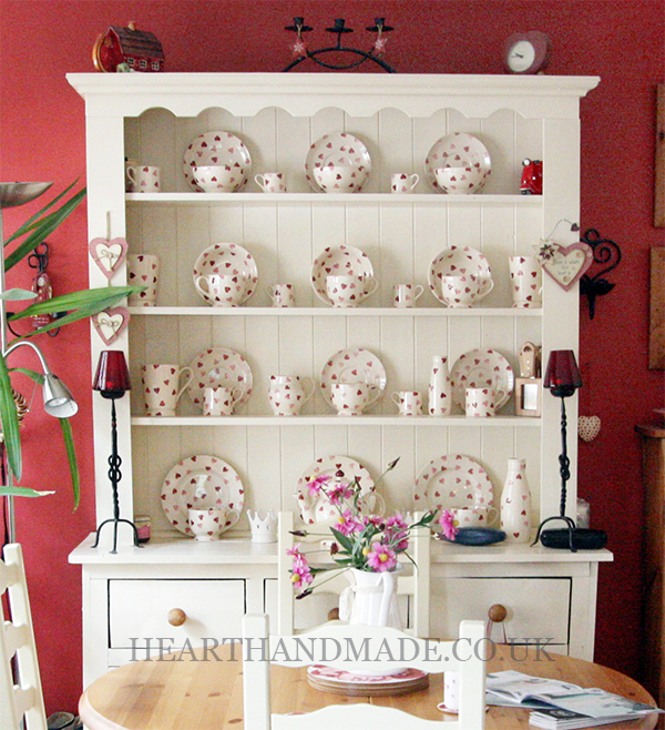 Country Cottage Emma Bridgewater Hearts Hutch