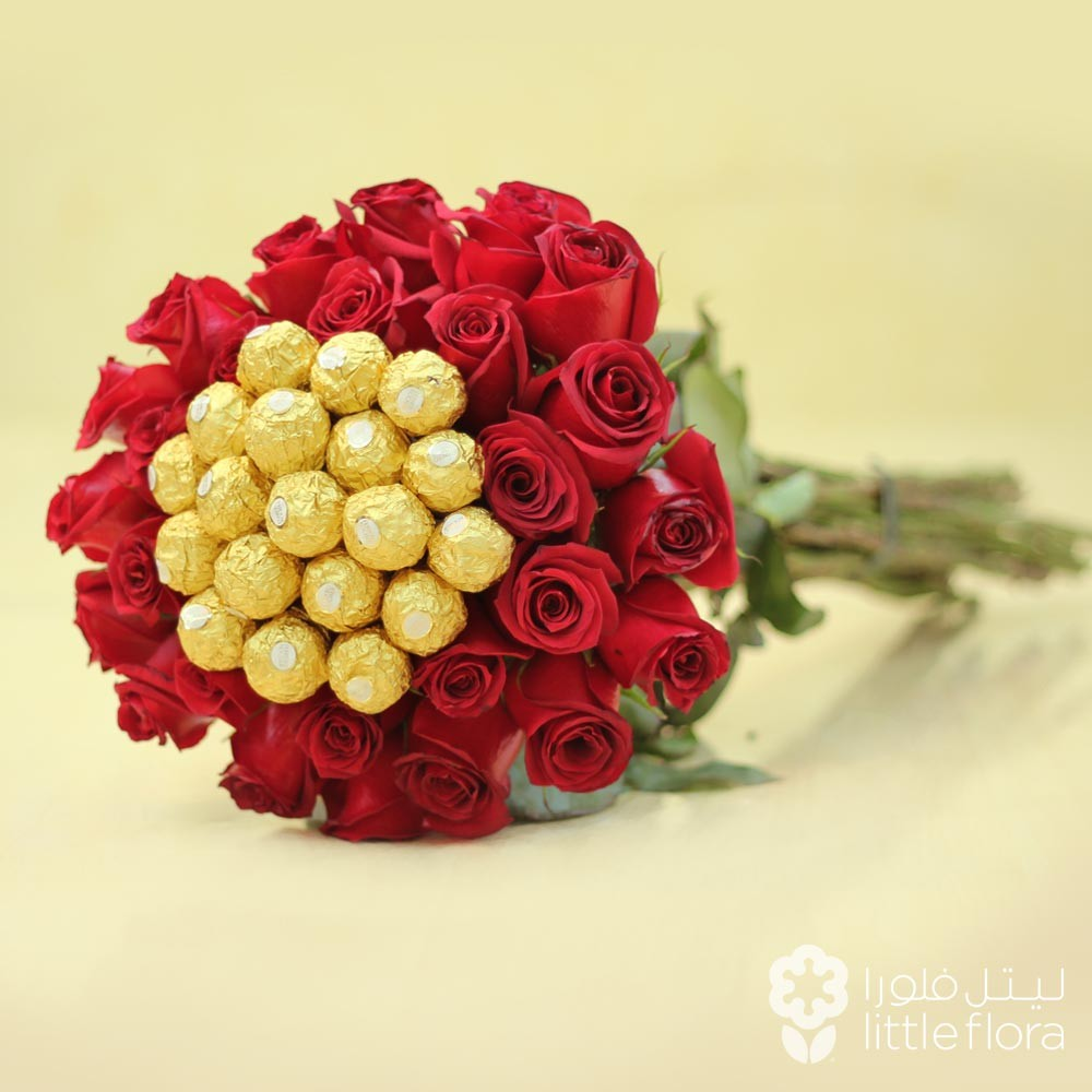 Best ferrero rocher flower bouquet gallery wedding and flowers best flowers shop buy flowers online riyadh red roses bouquet izmirmasajfo Images