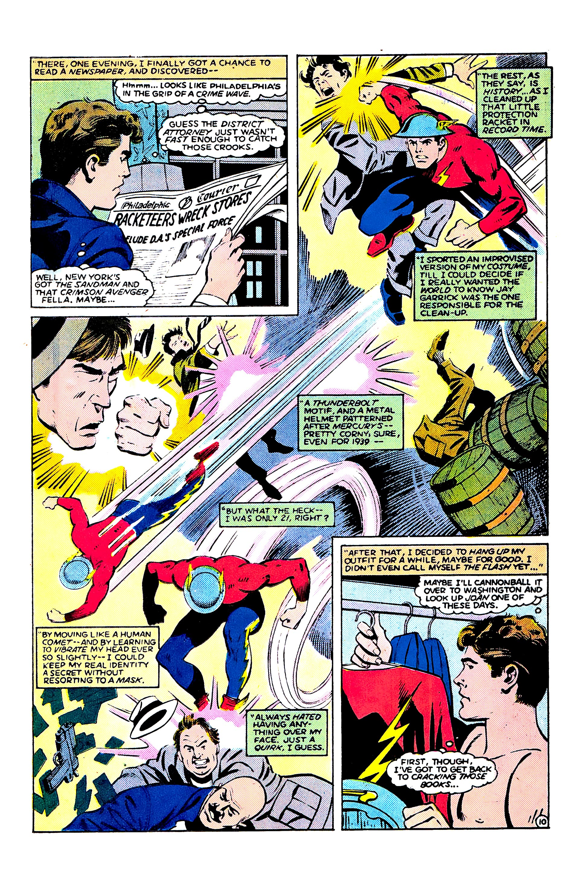 Read online Secret Origins (1986) comic -  Issue #9 - 34