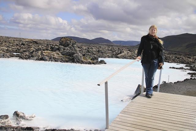 islannissa kuuma kylpy blue lagoon