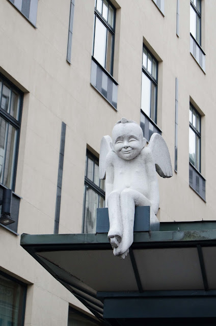 Anioł Gedimino pr. Vilnius Wilno