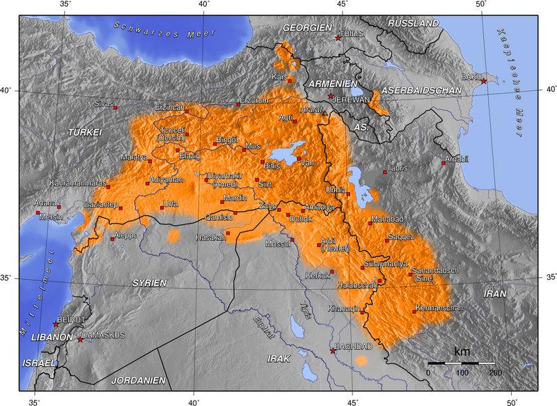 kürt devleti kürdistan