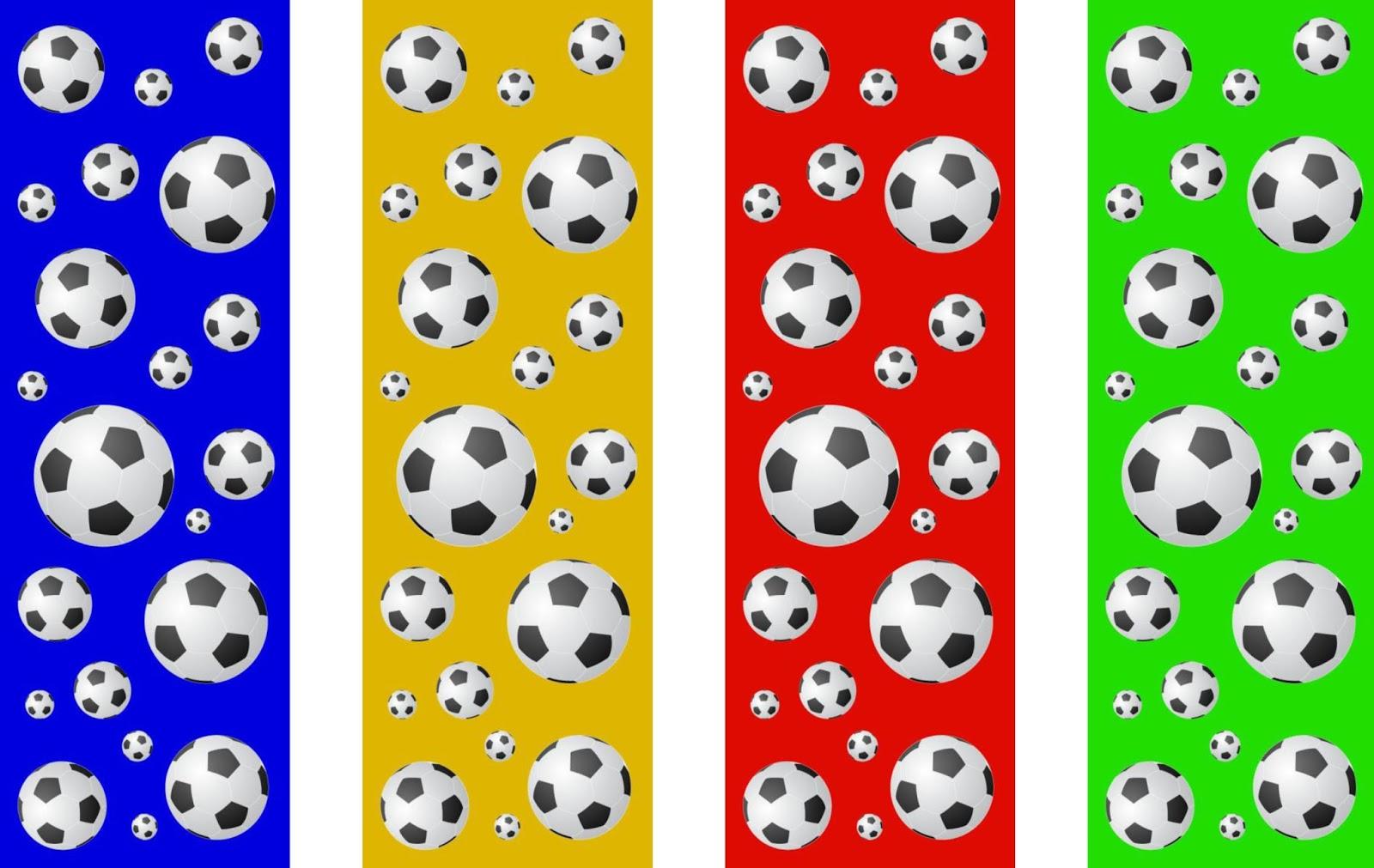 CJO Photo: Printable Bookmarks: Soccer Balls