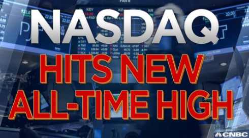NASDAQ Hits New All-Time High