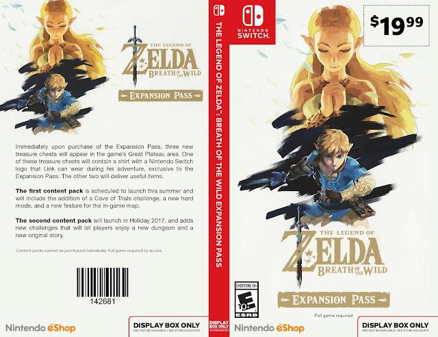 Capa The Legend Of Zelda Breath Of The Wild Nintendo Switch