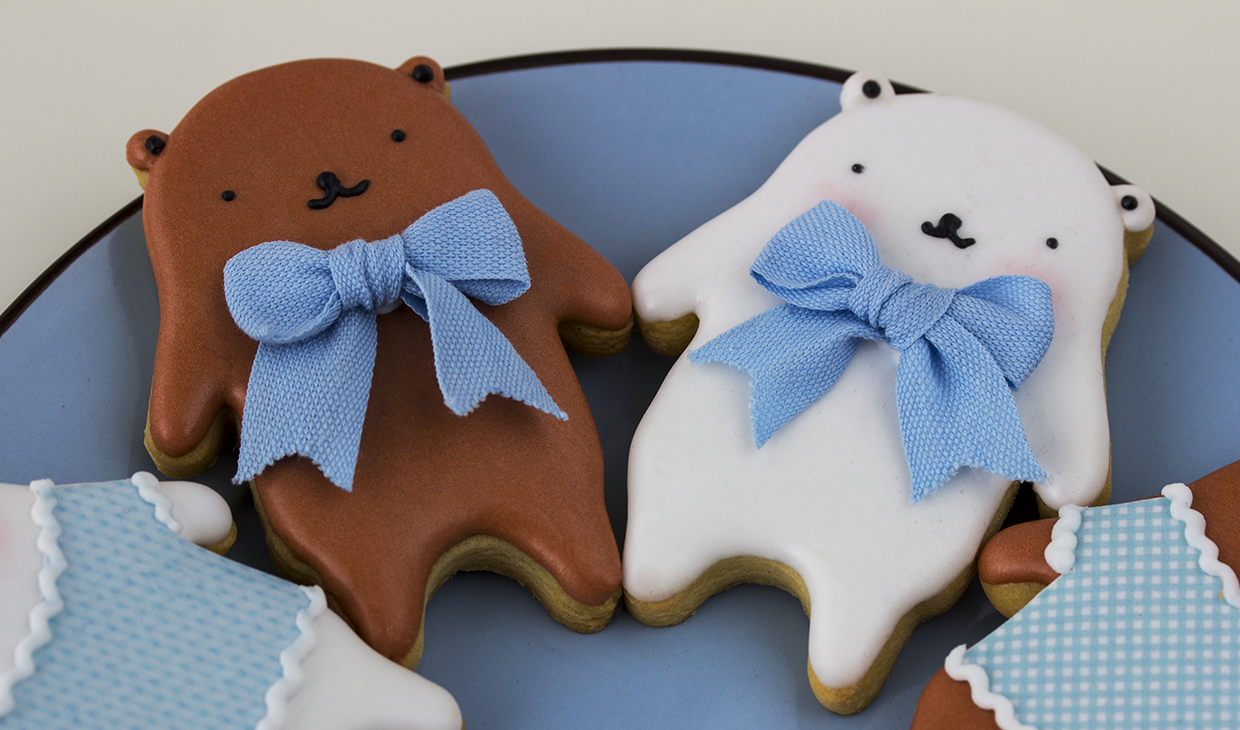 galletas decoradas de osos