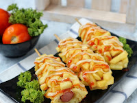 Cara Membuat Hotang, Hot Dog Kentang Modifikasi Ala Korea