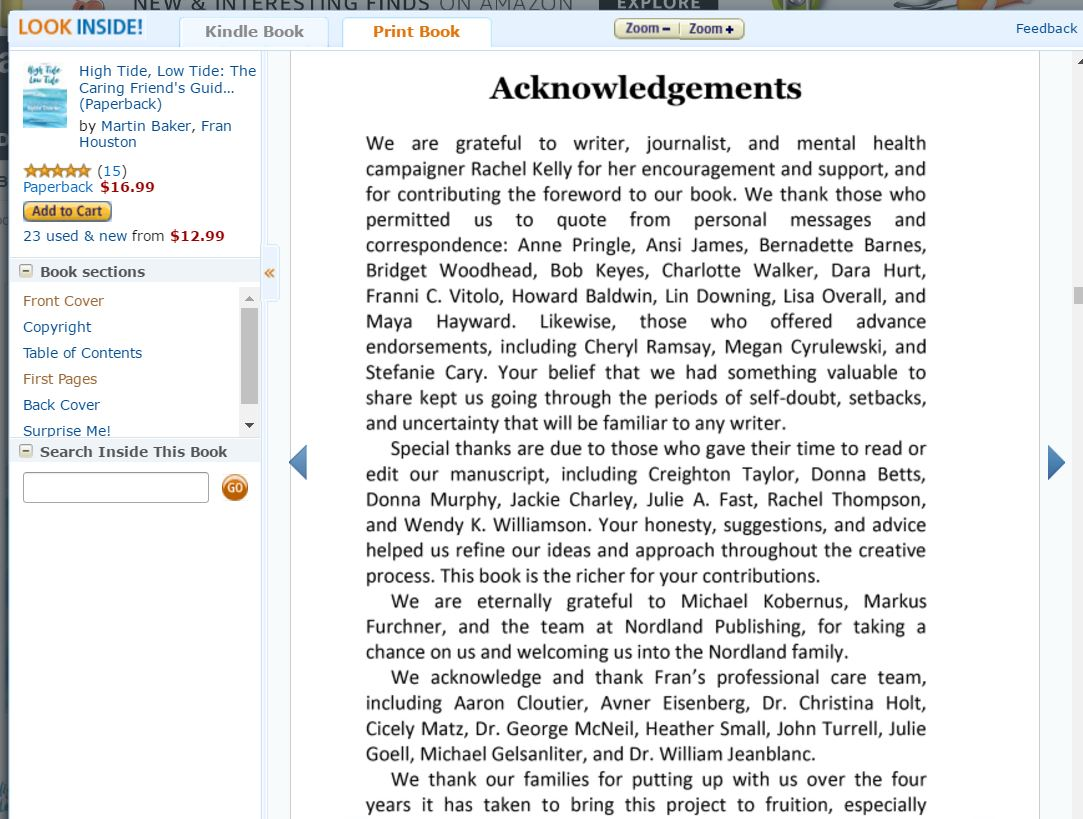 Gum on My Shoe: How to Write the Best Acknowledgement Page for