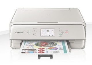 Canon PIXMA TS6050 All-In-One Inkjet Printer A small, desk-friendly printer, scanner and also copier with numerous connectivity choices. Quick, high-quality photo as well as record printing, plus an instinctive 7.5 centimeters (3 inch) LCD touchscreen.