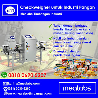 Checkweigher Industri Pangan