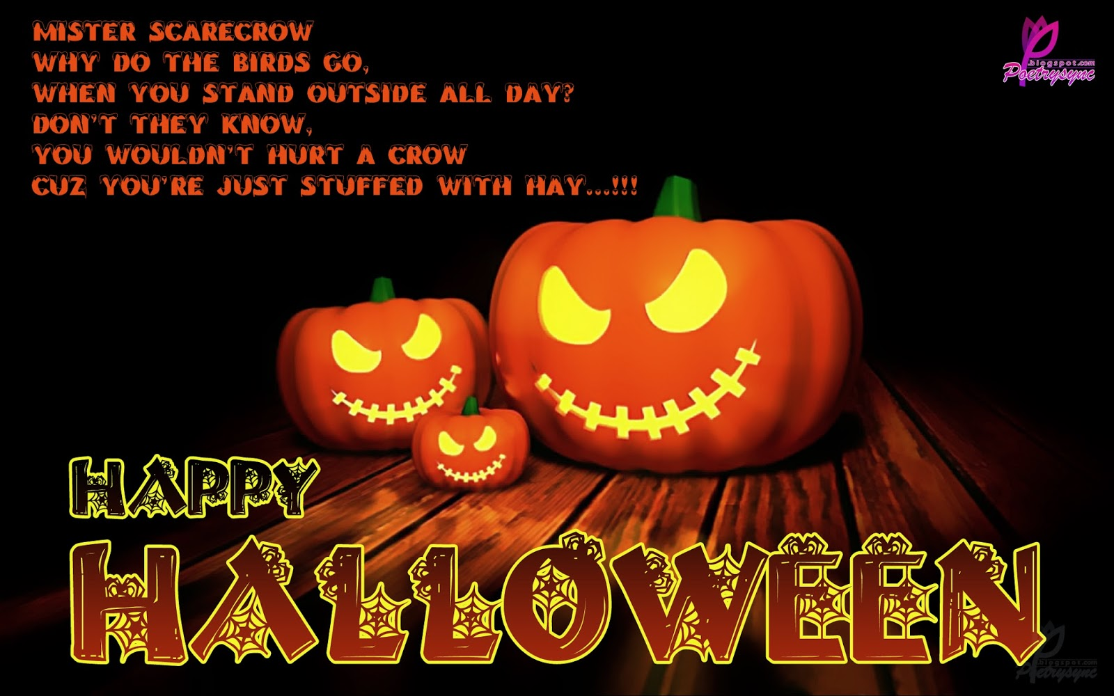 halloween messages for kids