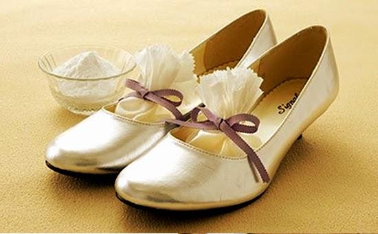 Truques de Mulher - Sapatos cheirosos