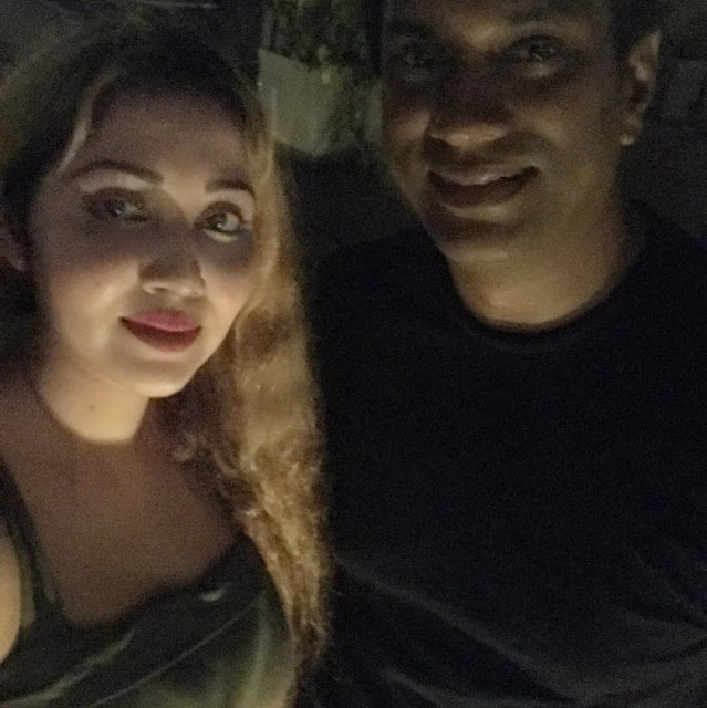 Roshan Pilapitiya with Ridma