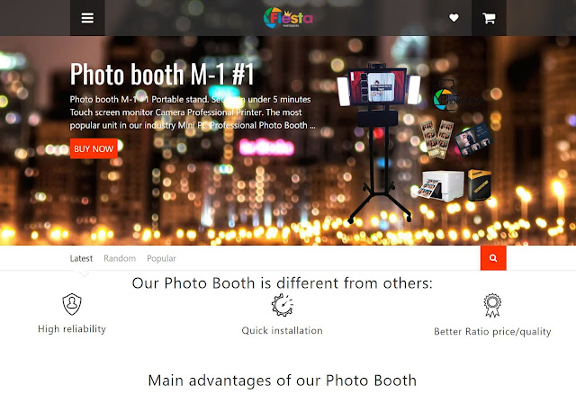 Fiesta Photobooth by Quixtarstudio New York
