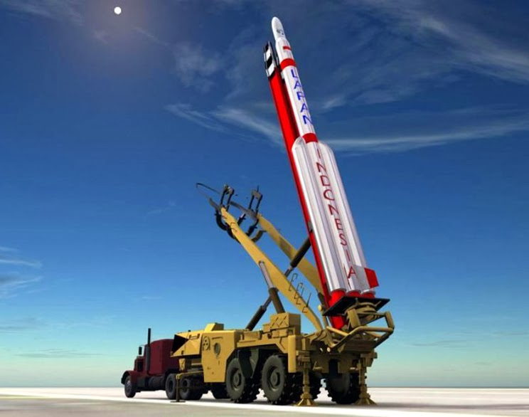 Disain Roket Pembawa Satelit Lapan