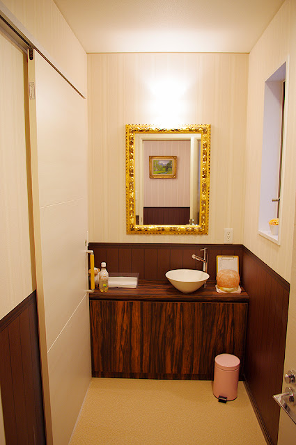 店舗(機能訓練特化型デイサービス併用接骨院)付き住宅の洗面化粧室
