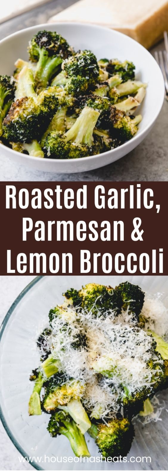 Oven Roasted Broccoli With Parmesan And Lemon