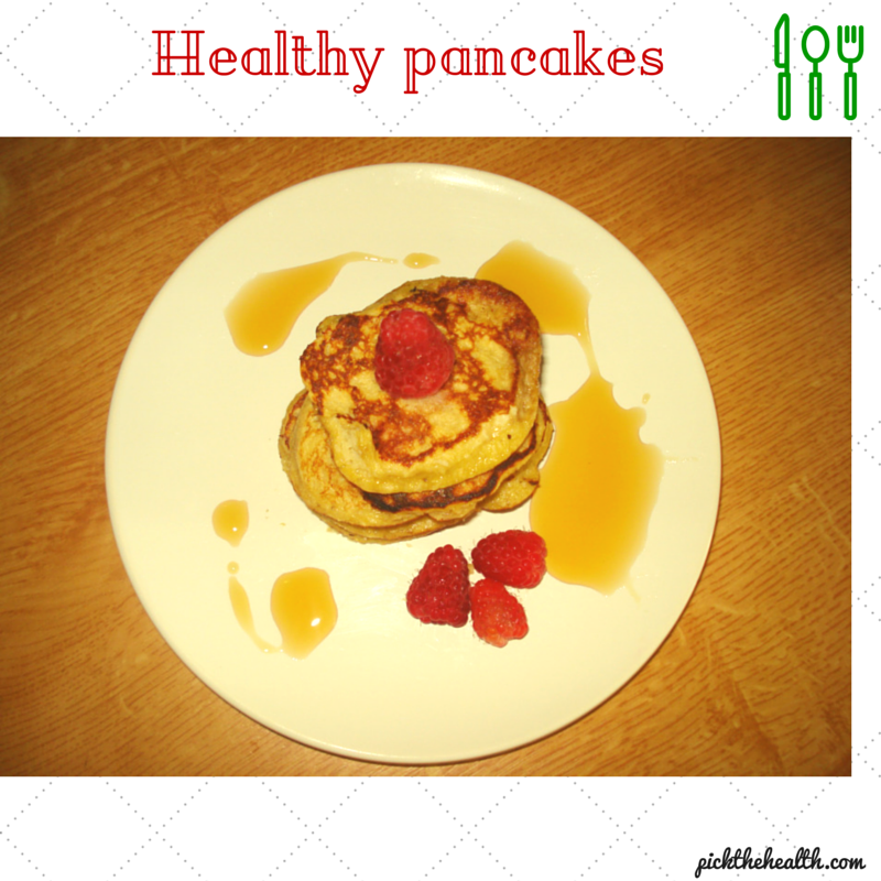 Pick the healthy pancakes