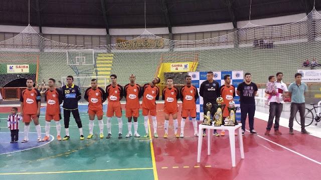 Atlético de Madrid é tricampeão do Municipal de Futsal Amador em Registro-SP