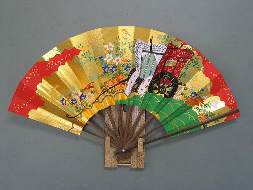 Folding fan type from Kyoto.