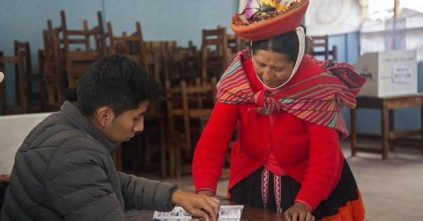 ELECCIONES GENERALES 2021: ONPE facilitará sufragio de ciudadanos de centros poblados