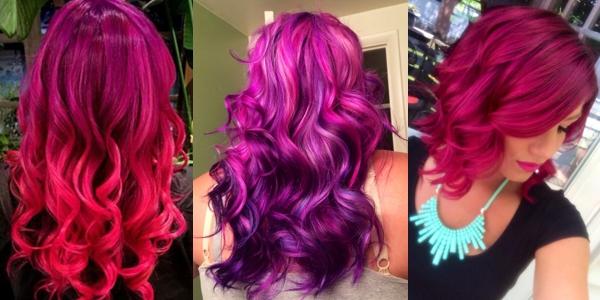 A month in hair colors! Today: Pravana shades! - The HairCut Web