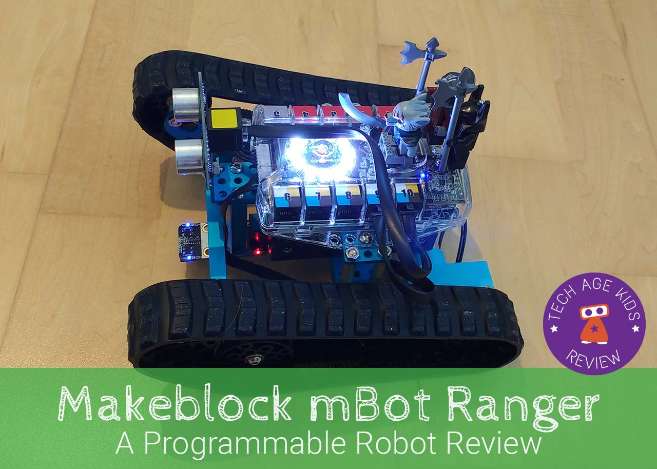 Makeblock mBot Ranger Programmable Robot Review | Tech Age Kids